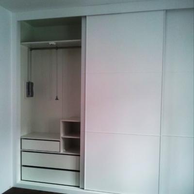 armario empotrado correderas blanco