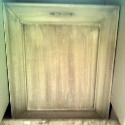 armario de cocina emvejecido