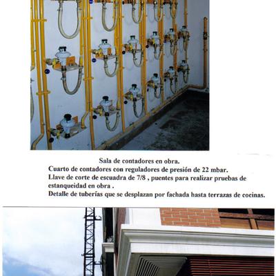 Armario de contadores gas - Castro Urdiales