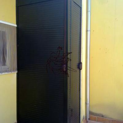 armario de persiana enrrolllable