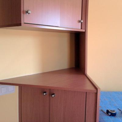 armario dormitorio forma triangulo