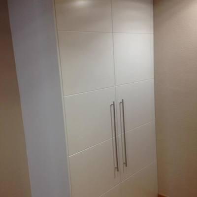 armario empotrado sin obra con costado visto