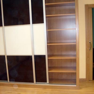 armario empotrado puertas correderas de cristal