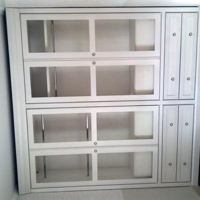 armario en blanco
