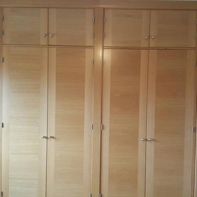 Puertas para armarios empotrados ideas y presupuestos - Puertas abatibles para armarios empotrados ...
