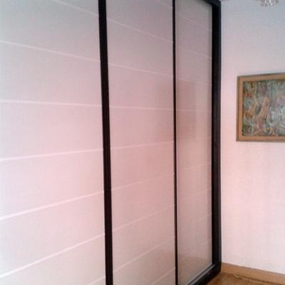 armario puerta coredera japonesa  wenge-blanco