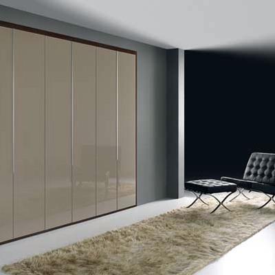 armario puertas cristal moka