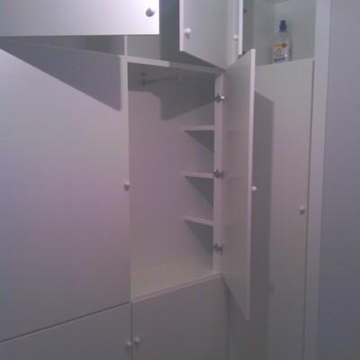 armario rinconera de 8 puertas