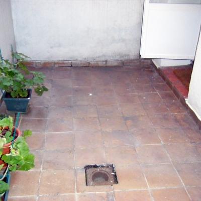 """arreglo de patio interior """"antes"""""""