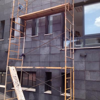 Arreglo fachadas mármol