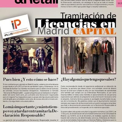 Artículo publicado sobre licencias