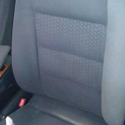 asiento de vehiculo limpio