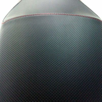 Asiento moto en microperforado