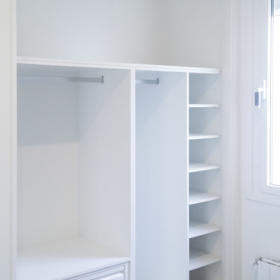 Interior armario a medida