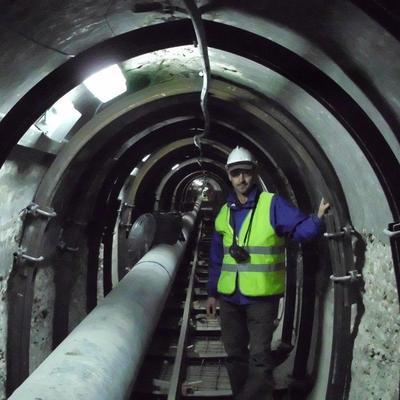 Obras de reparación del Túnel del Roble (Moratalla - Murcia)