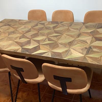 Montaje mesa y sillas