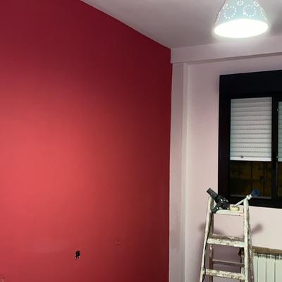 Alisar habitación y pintura