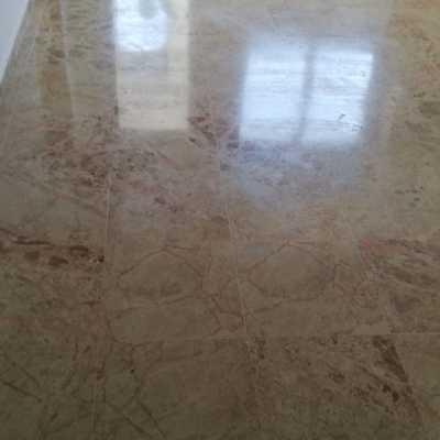 Limpieza suelo mármol para que brille