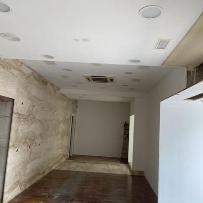 Preparación de techo para pintado