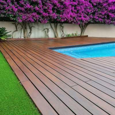 Tratamiento de madera para exterior