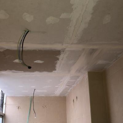 Colocación de techo de pladur