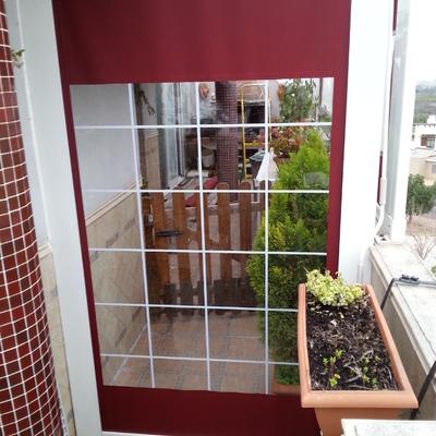bajante guias con ventanas