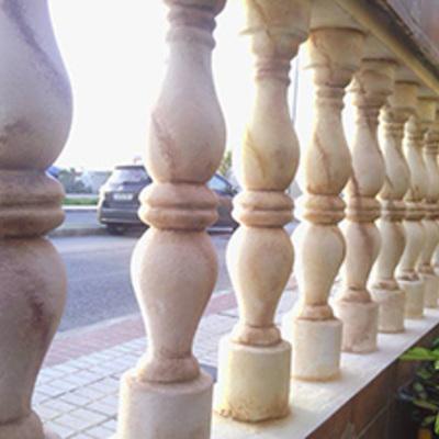 Balustrada envejecida