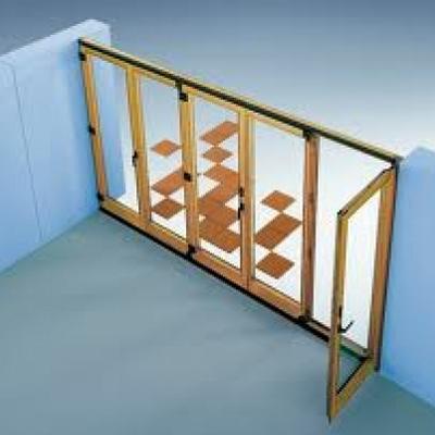 Balconera PVC sistema Replegable