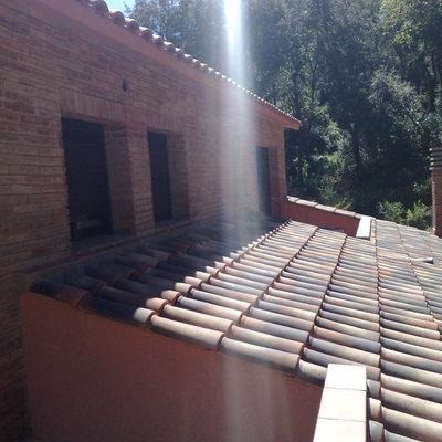 tejado 2 aguas obra nueva