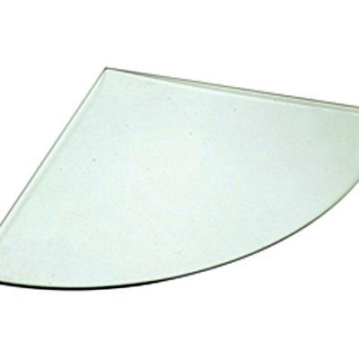 Balda de vidrio circular