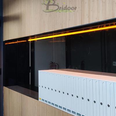 Gimnasio madera de bambú