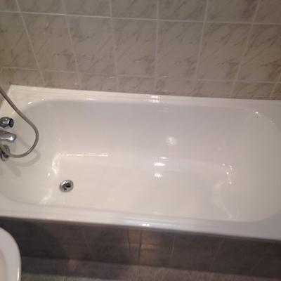 bañera despues