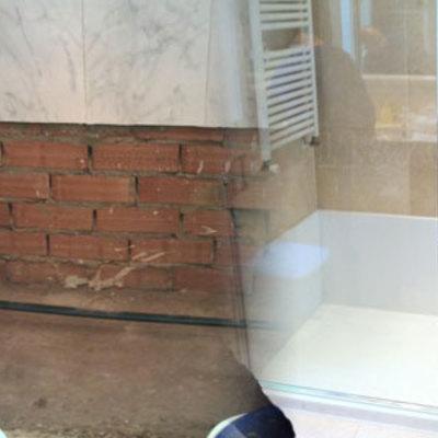 Cambio bañera palato ducha