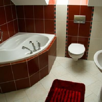 Baño bicromatico