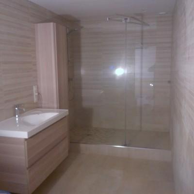 baño comfortable y practico.