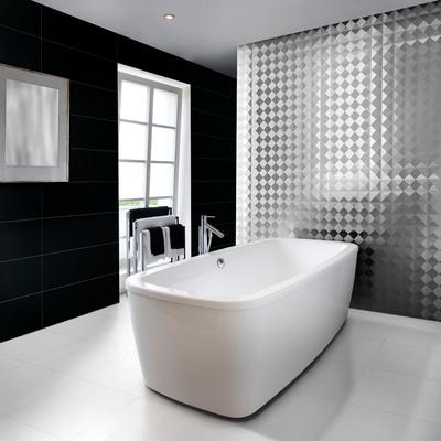 baño de diseño con azulejos de aparici
