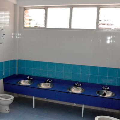 Baño de Infantil del Colegio José Bergamín, Boadilla