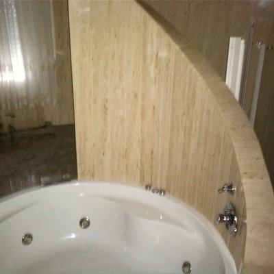 baño en chalet de lujo