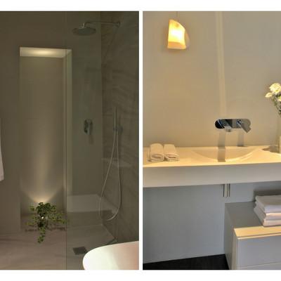 baño estudio show-room contemporanea interiorismo
