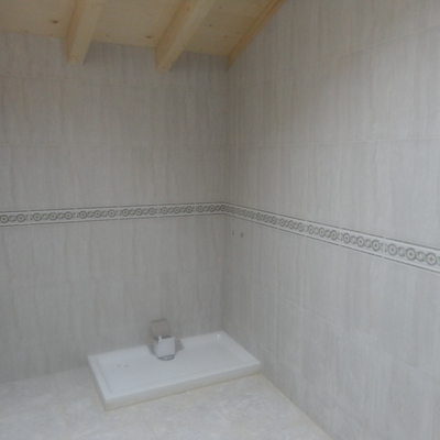 baño guardilla