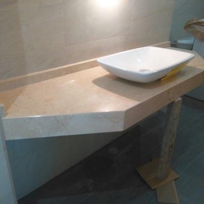 Baño mármol