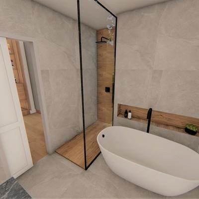 Render baño proyecto Centro