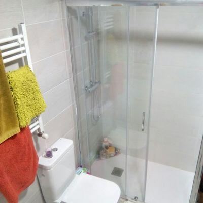 Reforma de baño en Orcoyen.