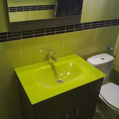 Baño pistacho