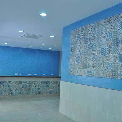Bar. Detalle Mosaico