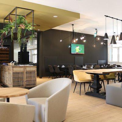 Cafeteria Hotel Corona Tortosa