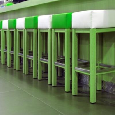Bar en verde