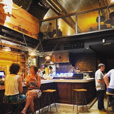 Bar Le Basque en Plaza Matxete
