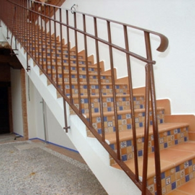 BARANDA DE FORJA