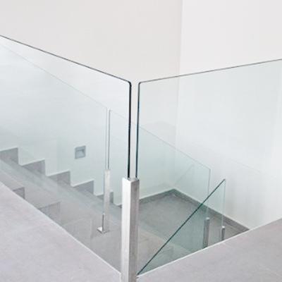 Baranda de vidrio